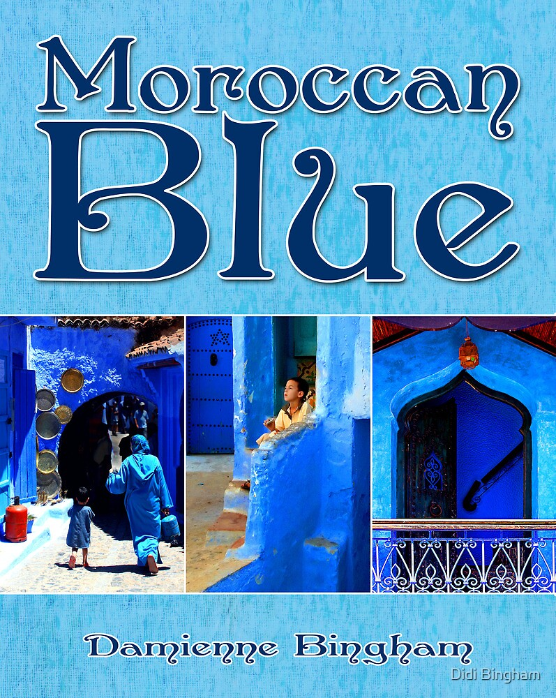 Moroccan Blue [Calendar Cover Image] by Damienne Bingham