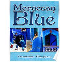Moroccan Blue [Calendar Cover Image] Poster