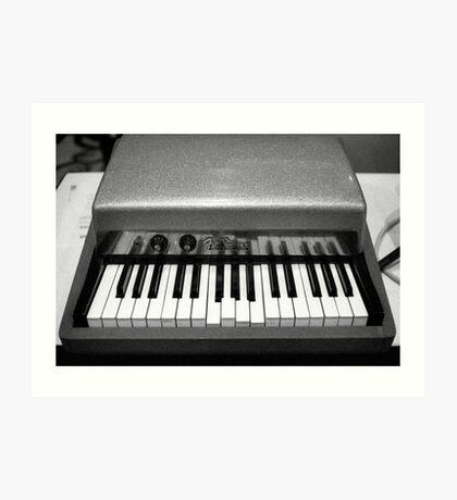 Fender Rhodes Electric Piano Art Print