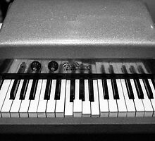 Fender Rhodes Electric Piano by AnalogSoulPhoto