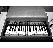Fender Rhodes Electric Piano Photographic Print