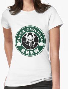 Black Cauldron Brew Womens Fitted T-Shirt