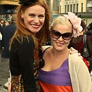 Melbourne Cup Racegoers by Andrew  Makowiecki