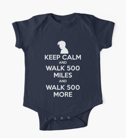 Keep Calm and Walk 500 Miles One Piece - Short Sleeve
