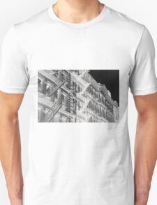 Abstract New York apartments Unisex T-Shirt