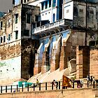 Varanasi, (also Banares) India by lgraham