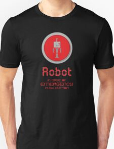Robot Button T-Shirt