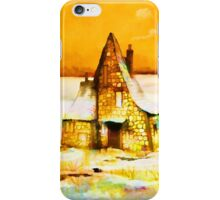 Gingerbread cottages'... iPhone Case/Skin