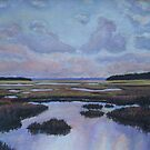 Light Over Marshes by Richard Nowak