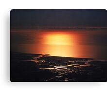 """Sunglow Over Suffolk"" Canvas Print"