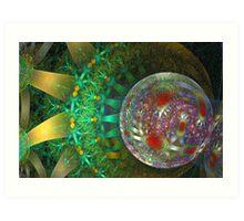 Spherical - Rounded Art Print