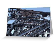 Duluth Lift Bridge Greeting Card