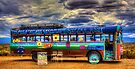 Solar Ice Creme Bus -- Taos, New Mexico by njordphoto