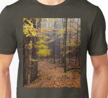 Foggy Fall Walkway T-Shirt