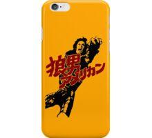 An American Werewolf in Tokyo iPhone Case/Skin
