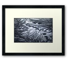 Mountain Abstract II Framed Print