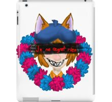Je ne Regret Rien iPad Case/Skin
