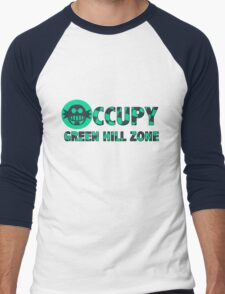 Occupy Green Hill Zone Men's Baseball ¾ T-Shirt