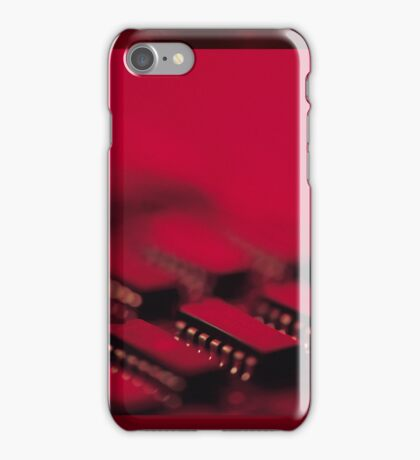 Integrated Circuits iPhone Case/Skin