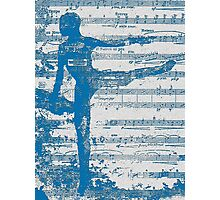 Blue Dance Photographic Print