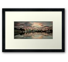 Shrouded in Pink Framed Print