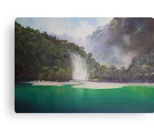 Hinemoa's Cloak Canvas Print