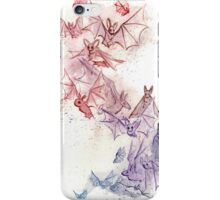 Flight of Bats iPhone Case/Skin