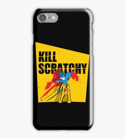 Kill Scratchy Vol.1 iPhone Case/Skin