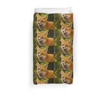Fox Images Duvet Cover