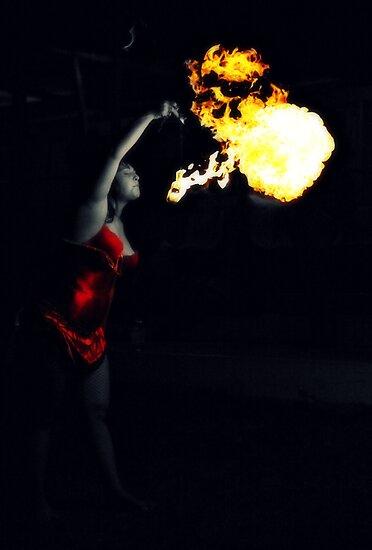 Fire an Darkness by HennaGoddess