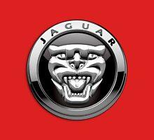 Jaguar - 3D Badge on Red T-Shirt