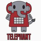 Telephant by Amy Huxtable