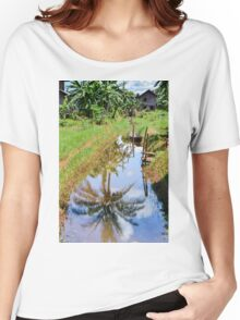 river landscape Women's Relaxed Fit T-Shirt