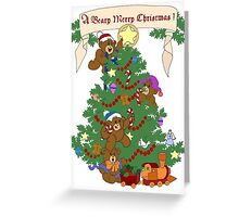 A Beary Merry Christmas ! Greeting Card