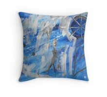 To The Goldfields And Riches Galore Throw Pillow