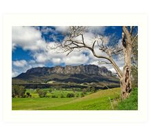 Rural Mount Roland Art Print