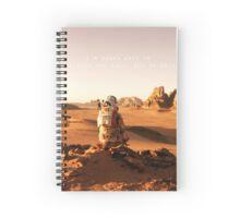 The Martian notebook Spiral Notebook