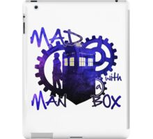 Dr Who - Mad Man with a Box iPad Case/Skin