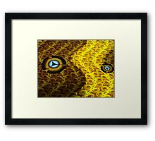 Humility goes places... Framed Print