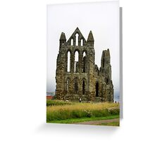Whitby Abbey. Greeting Card