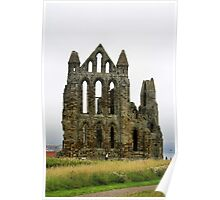 Whitby Abbey. Poster