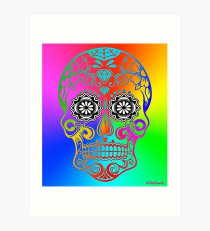 Sugar Skull - Calavera Art Print