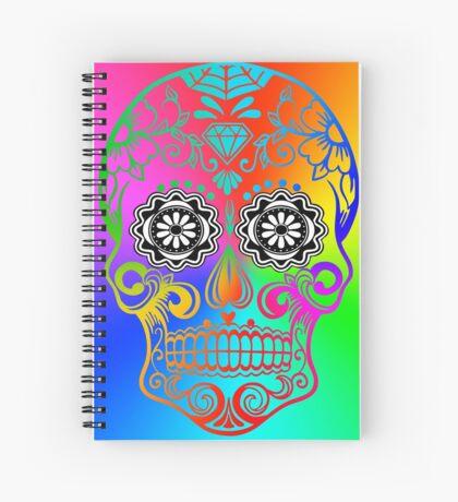 Sugar Skull - Calavera Spiral Notebook