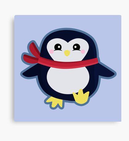 Kawaii Penguin Canvas Print
