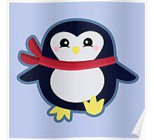 Kawaii Penguin Poster