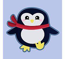 Kawaii Penguin Photographic Print