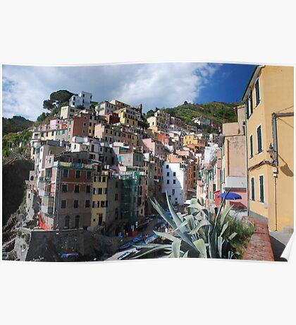 Riomaggiore, Cinque Terre Poster