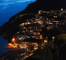 Positano by night by kieranmurphy