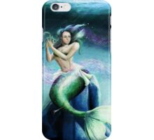 Mermaid in Tranquility iPhone Case/Skin