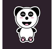 Kawaii Panda Photographic Print